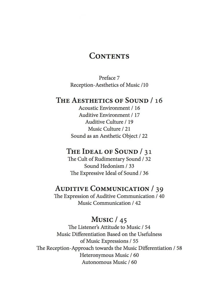 content page 2 reception-aesthetics-of-music-and-its-nomenclature-by-renata-belicova 2