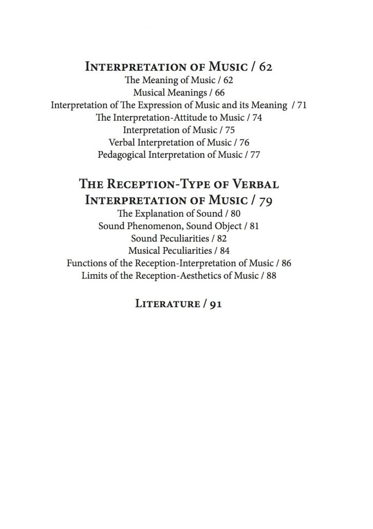 content page 3 reception-aesthetics-of-music-and-its-nomenclature-by-renata-belicova 3